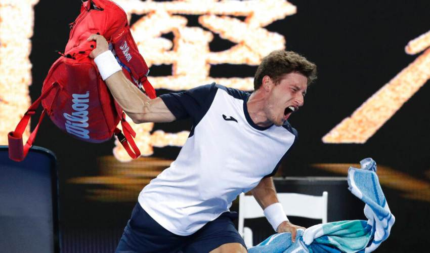 'I knew I might explode': Crowd boos as Carreno… - news of today