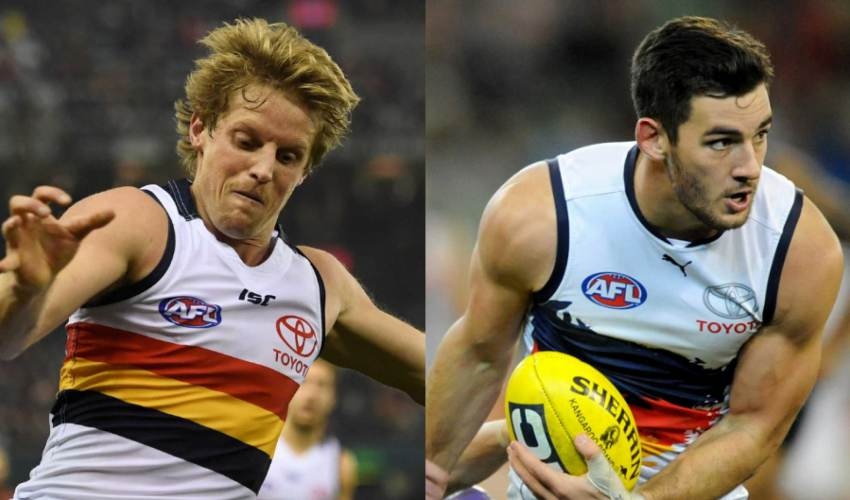 Rory Sloane and Taylor Walker to be Adelaide… - news of today
