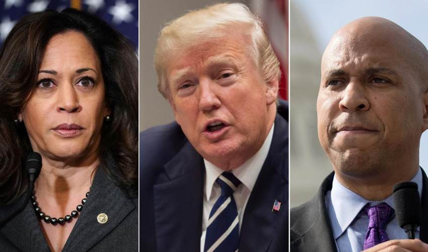 2020 Democrats confront how to deal with Trump - news of today