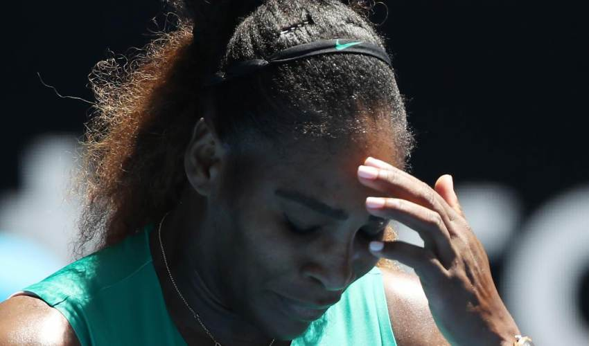 Serena Williams loses at Australian Open, so no… - news of today