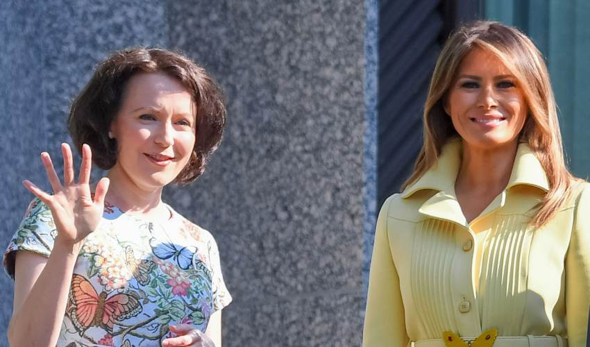 Melania Trump, Finland's first lady go twinsies… - news of today