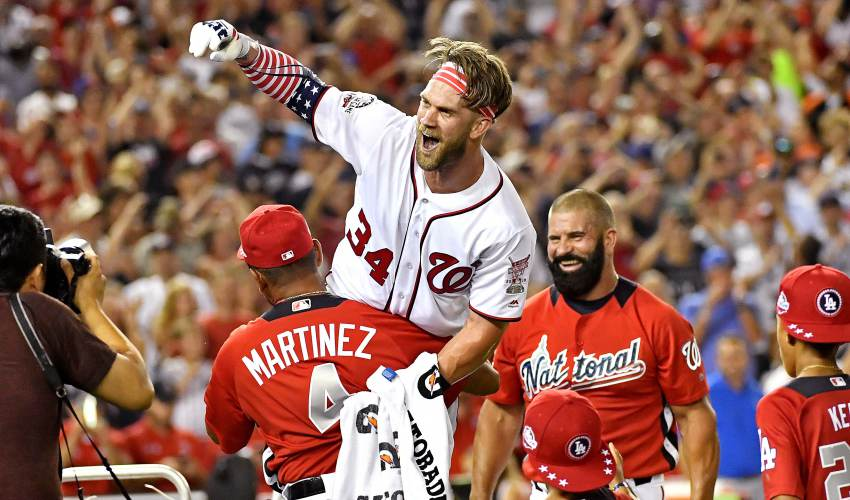 Hometown hero Bryce Harper wins MLB Home Run Derby - news of today
