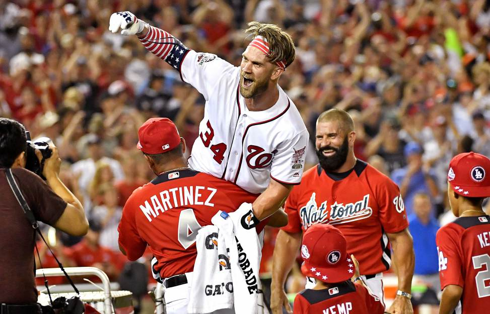 news of today - Telling the untold - Hometown hero Bryce Harper wins MLB Home Run Derby
