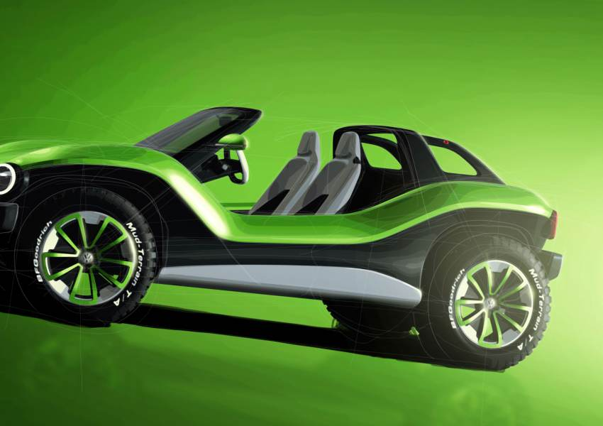 Volkswagen debuts electric Buggy concept ATV at… - news of today