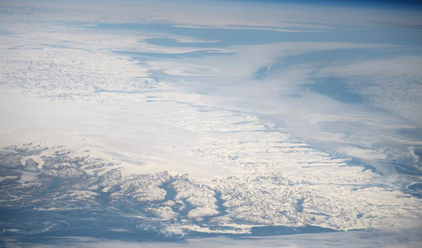 Satellites saw rapid Greenland ice loss - news of today