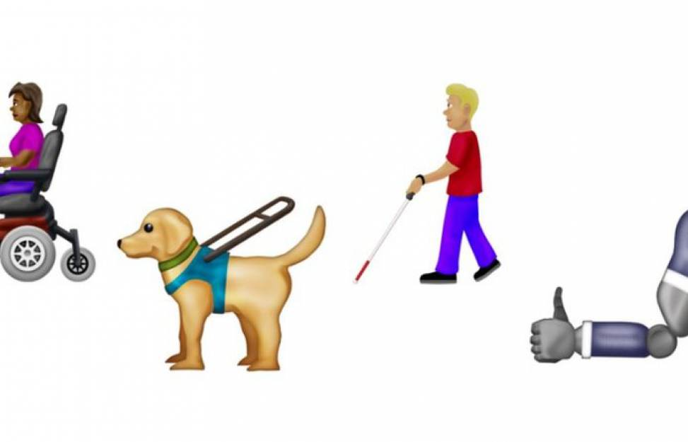 news of today - Telling the untold - Disability-themed emojis approved for use