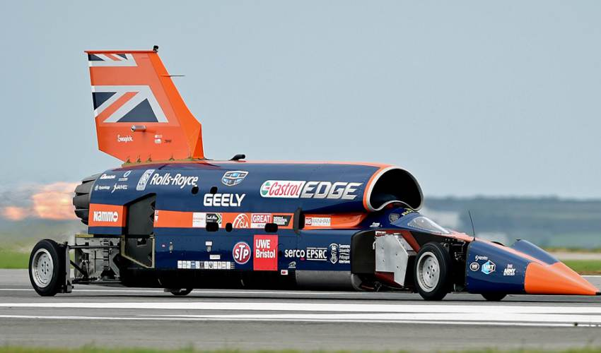 Bloodhound 1,000mph car goes into administration - news of today