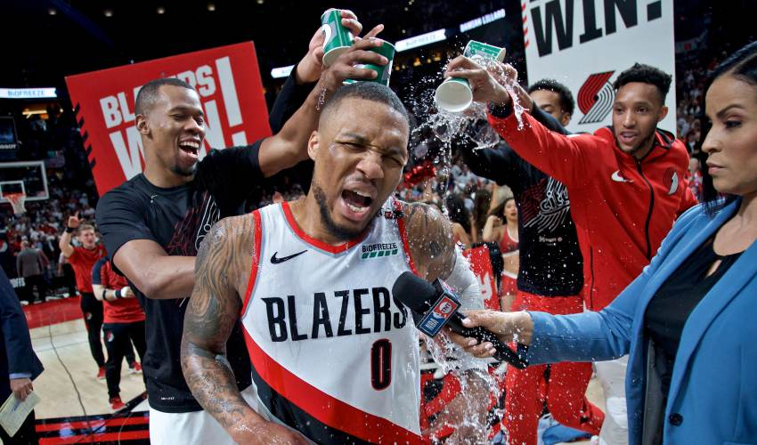 Most cold-blooded shot 'ever': Damian Lillard's… - news of today