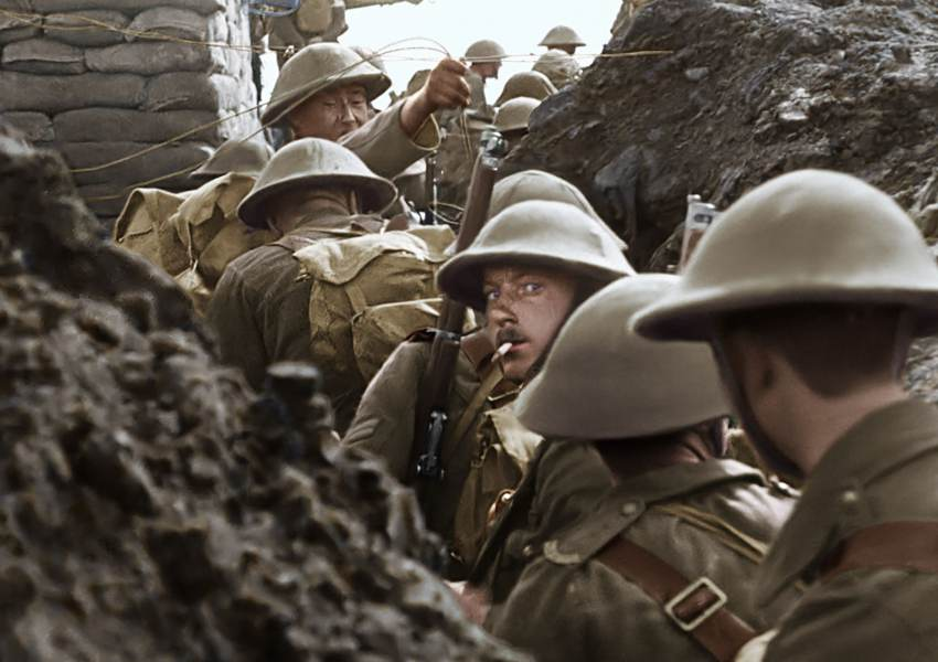 Peter Jackson breathes life into World War I… - news of today